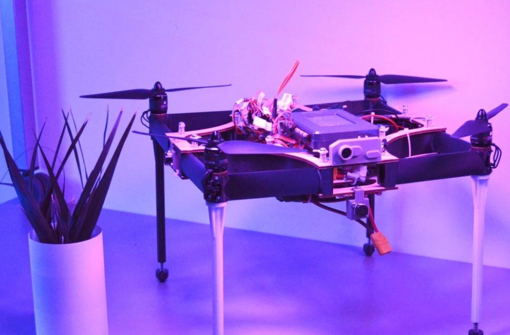 В Дании создали дрон для вертикальных ферм