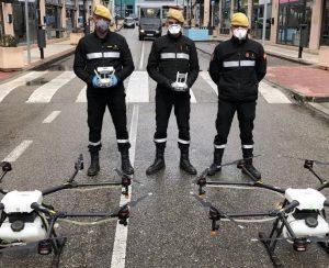 В Испании против инфекции применят дроны
