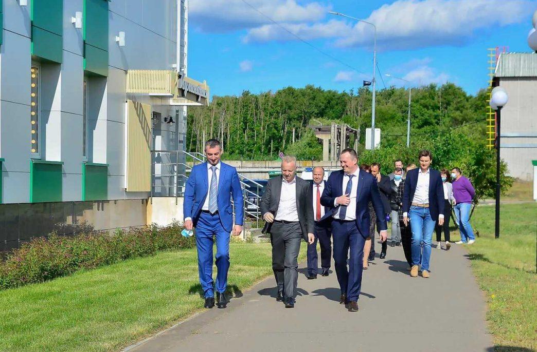 Дмитрий Мазепин посетил КЧХК