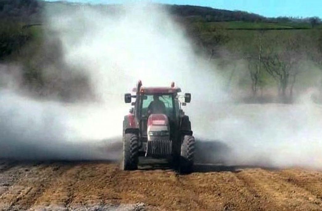 В России хотят ускорить известкование кислых почв