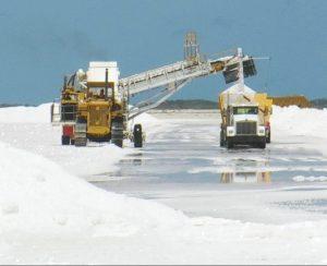 Kalium Lakes испытала соляной комбайн