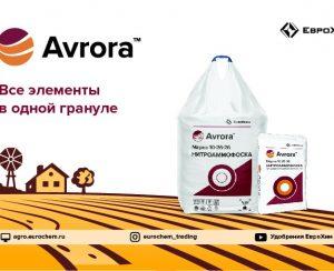 Avrora — новое имя линейки нитроаммофосок от компании «ЕвроХим»