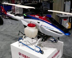 Yamaha Motor выводит дроны на поля Таиланда