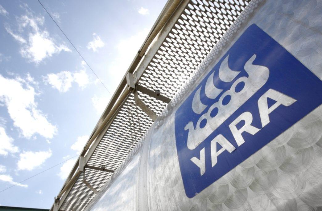 Yara ожидает роста предложения азотных удобрений