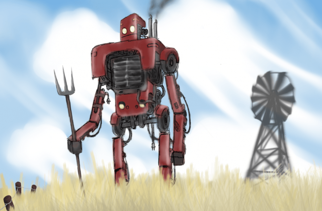 Alphabet создал полевого робота