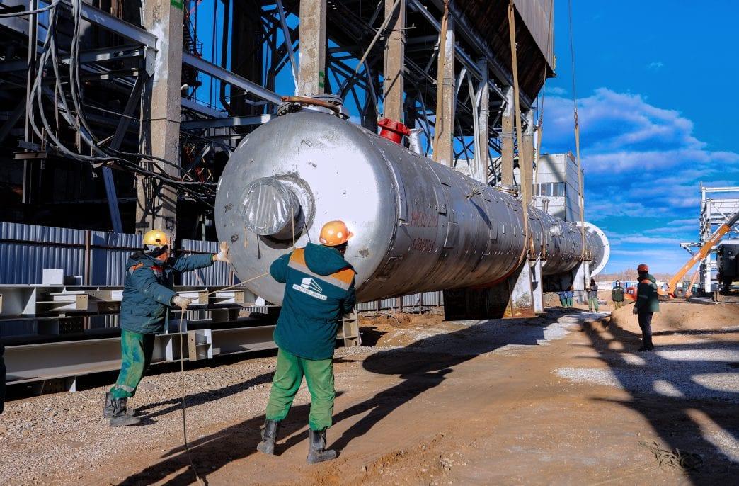 «Тольяттиазот» продолжает строительство третьего агрегата карбамида