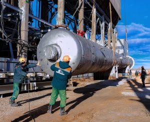 «Тольяттиазот» строит новый агрегат карбамида