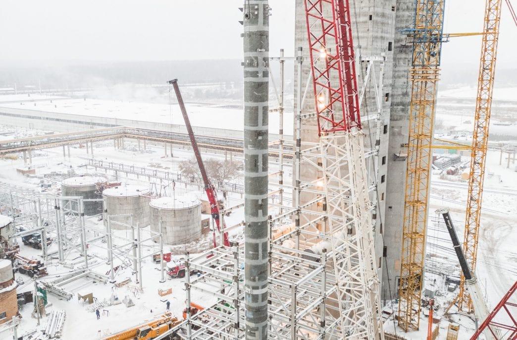 «Тольяттиазот» установил реактор