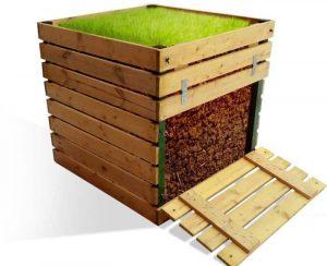Идеальный компостный ящик: место, материал, размеры, как сделать своими руками