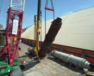 Кемеровский «Азот» обновляет цех карбамида