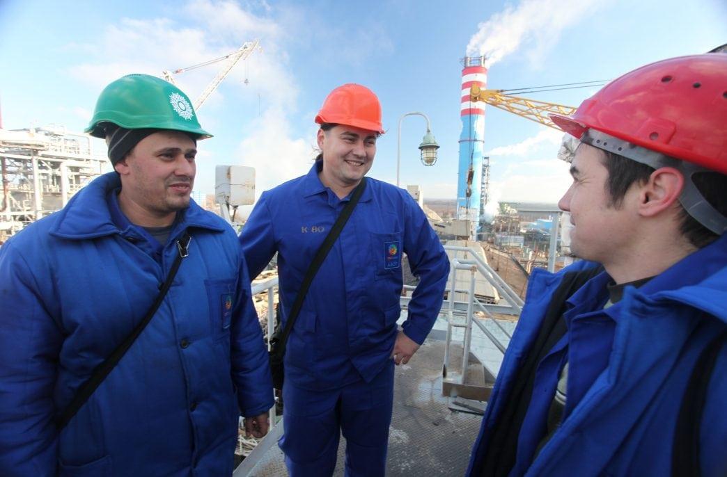 Черкасский «Азот» отремонтировал крупнейший аммиачный цех