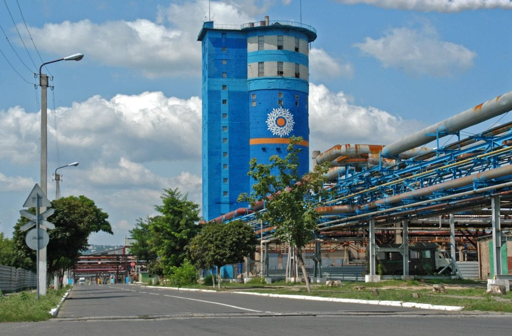 Северодонецкий «Азот» нарастил выпуск на 61%
