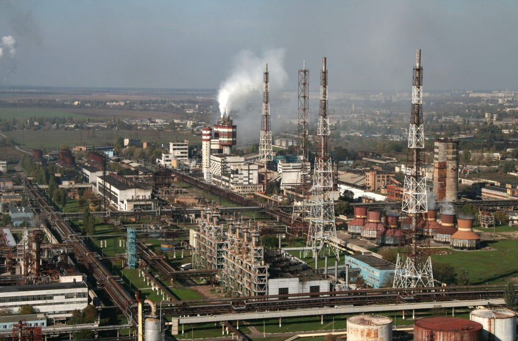 Черкасский «Азот» обновляет ключевой цех