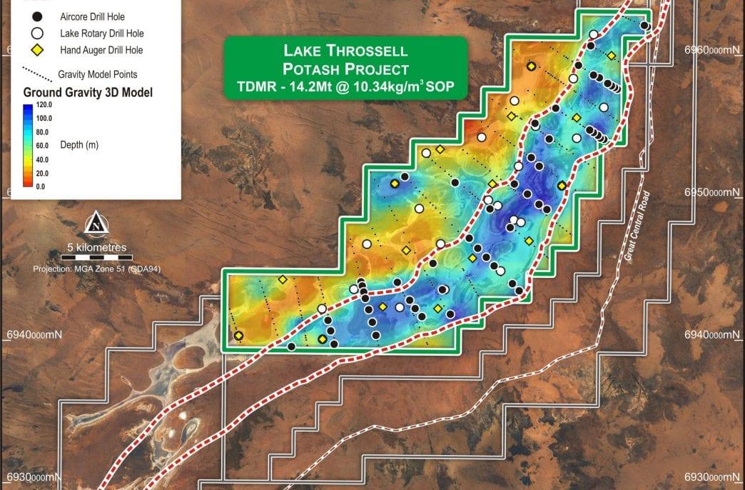 Trigg Mining продвинулась вперед