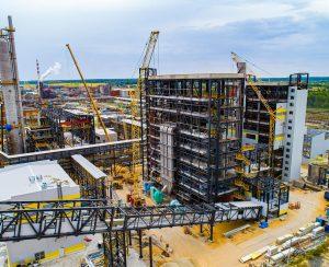 На «Щекиноазоте» монтируется новый комплекс